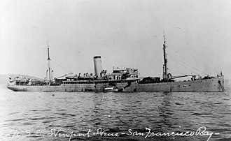 Teófilo Marxuach - USS Newport News, 1917 (previously The Odenwald)