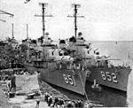 USS Rupertus (DD-851) and USS Leonard F. Mason (DD-852) at Cebu c1949.jpg