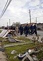 US Navy 080918-N-2804C-036 Sailors from the USS Nassau volunteer Galveston Assistance Team - Overhaul Response (GATOR) arrive in Galveston, Texas to provide humanitarian assistance.jpg