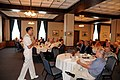 US Navy 090623-N-6220J-002 Rear Adm. Michael J. Browne, deputy chief engineer of Naval Sea Systems Command, delivers remarks at a meeting of the Association of the United States Army at the Arsenal Club on the Rock Island Arsen.jpg