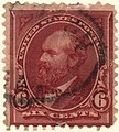 US stamp 1894 6c Garfield.jpg