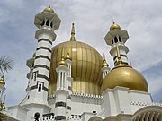 The Ubudiah Mosque features prominently in Time for a Tiger, Burgess's novel of Kuala Kangsar
