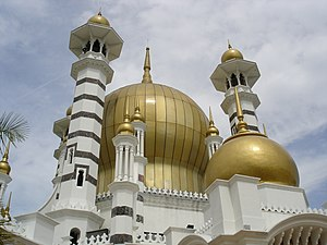 Kuala Kangsar District - Ubudiah Mosque in Kuala Kangsar
