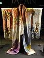 Uchi-kake, woman's kimono, Japan, 1950s-1960s, silk, laminated metallic wire, buckram - Museu do Oriente - Lisbon, Portugal - DSC06869.JPG