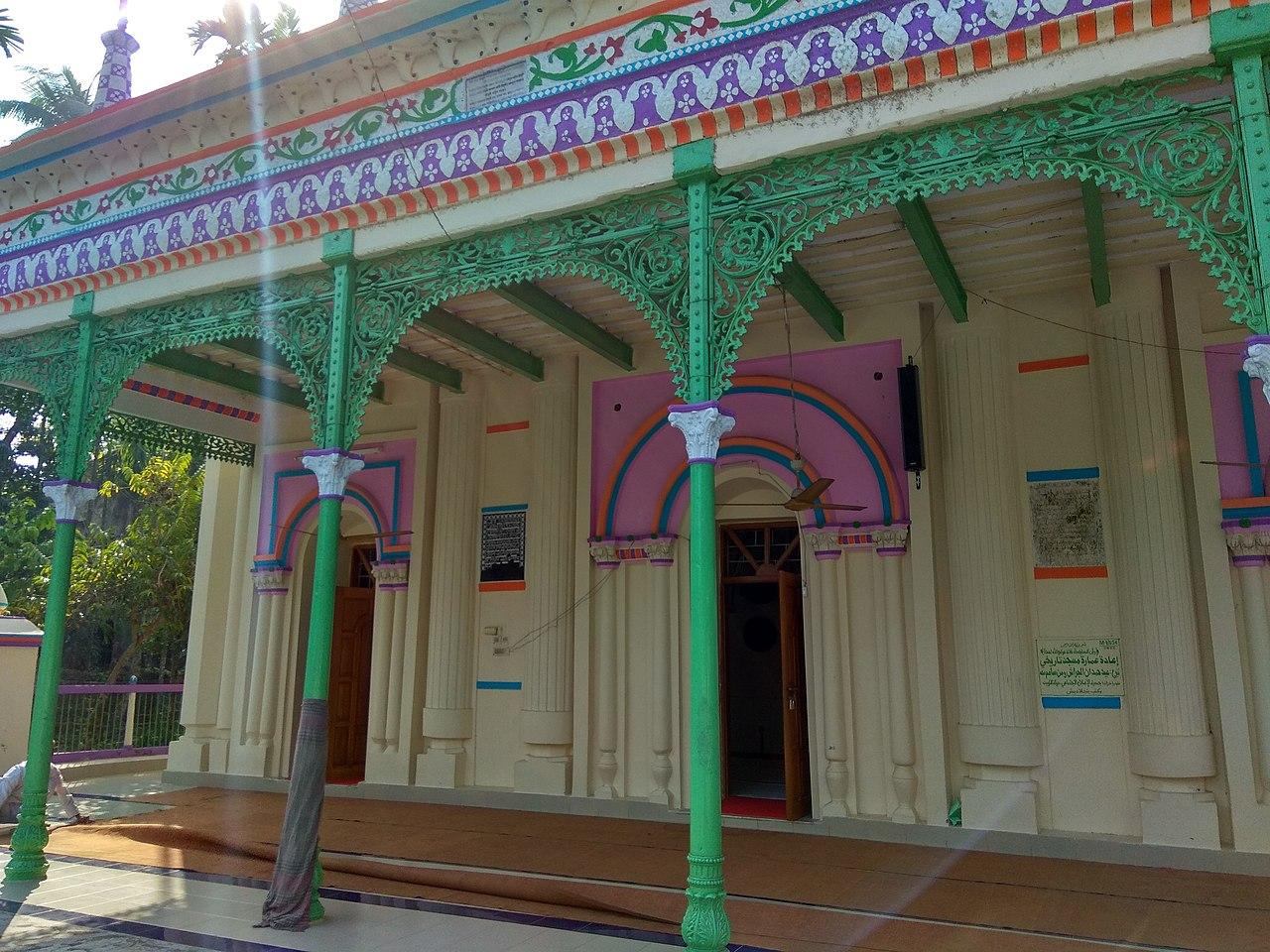 File:Ulania Zamindar Bari Masjid, Barisal (7).jpg