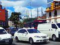 Un taxi caraqueño en el tráfico de Caracas, Venezuela.jpg
