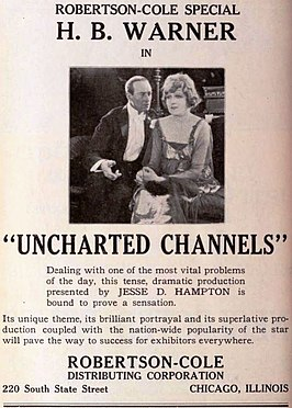 Advertentie voor Uncharted Channels