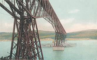 Walkway over the Hudson - Under the Bridge, early 20th century