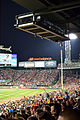 Under the lights at Fenway Park.JPG