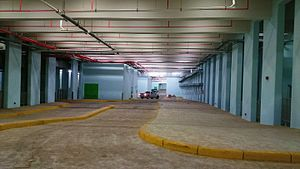 Multi-storey car park - Basement parking