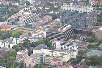 Lindenthal, Cologne - Campus of the Cologne University Hospital
