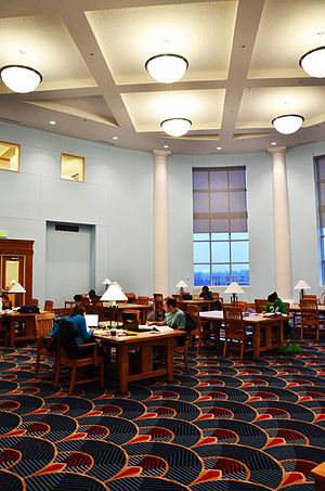 University of Southern Indiana - The Quiet Room in Rice Library at the University of Southern Indiana