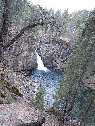 McCloud River - Image: Upper Mc Cloud Falls