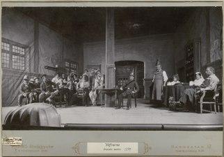Väfvarne, Svenska teatern 1899. Föreställningsbild - SMV - H15 024.tif