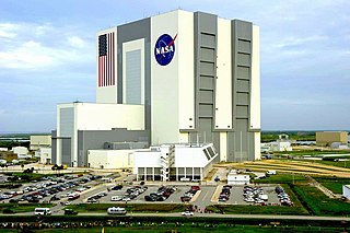 Vehicle Assembly Building Spacecraft assembly building operated by NASA at the Kennedy Space Center