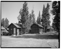 VIEW NORTHWEST - Snowlodge, Tourist Cabin Type D No. 355, 485' southeast of Snowlodge, West Thumb, Teton County, WY HABS WYO,20-OFAIT,3F-1.tif