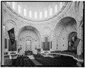VIEW OF WESTERN TRANSEPT - U.S. Naval Academy, Academy Chapel, Annapolis, Anne Arundel County, MD HABS MD,2-ANNA,65-1-12.tif