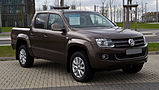 VW Amarok 2.0 TDI 4MOTION DC Highline – Frontansicht, 1. April 2012, Essen.jpg