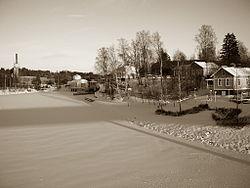 A view from Naissaari in Vaajakoski