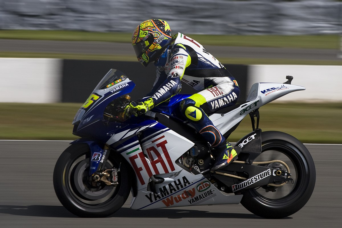 racing rossi 2008 prix motorcycle grand valentino season wikipedia motogp champion donington park