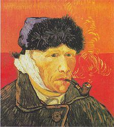 Винсент ван Гог: Self-Portrait With a Bandaged Ear