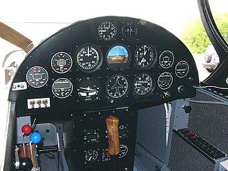 Van's Aircraft RV-3 - Van's Aircraft RV-3 instrument panel