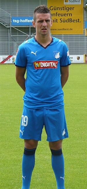 Vedad Ibišević - Vedad Ibišević with 1899 Hoffenheim in 2008
