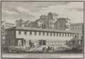 Veduta delle Rimesse fatte fare per commodo delle carrozze del Palazzo Apostolico del Quirinale nella Strada in S. Vitale by Giovanni Domenico Campiglia (1739).png