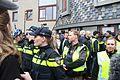 Veel politie op de been Wilders Spijkenisse.jpg
