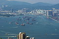 Victoria Harbour from Victoria Peak.JPG