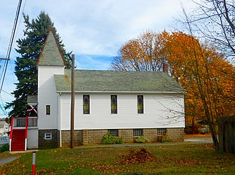 Banks Township, Carbon County, Pennsylvania - Victory Bible Church in Junedale