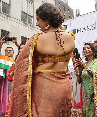 Indians in the New York City metropolitan region - Image: Vidya Balan Insult India Parade or Bollywood Parade