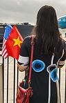 Vietnam Communist Party leaders arrives at Joint Base Andrews, to meet President Obama 150706-F-WU507-251.jpg