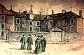 Vieux-Montréal, vers 1888. Le Vieux Séminaire, rue Notre-Dame. (6517833595).jpg