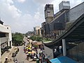 View from MG Road metro station.jpg