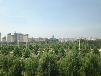 Hebi - Image: View near Hebi East Station 2