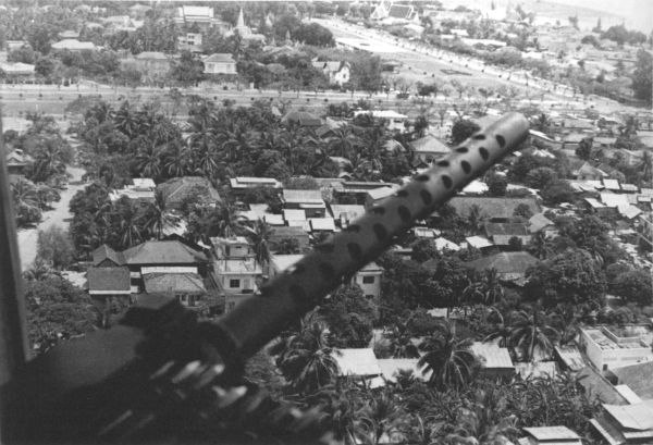 View of Phnom Penh from CH-53