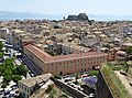 View over Old Town from Neo Frourio (New Fortress) - Corfu - Greece - 03 (41381638695).jpg
