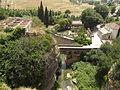 Views from the Roman Bridge - Calle Real, Ronda - Old Bridge - Rio Guadalevin (14675020773).jpg