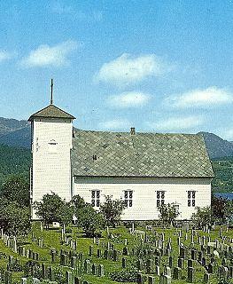 Vikøy Church Church in Vestland, Norway