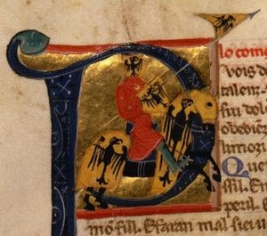 William IX, Duke of Aquitaine - William from a 13th-century chansonnier.