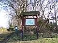 Village Information Board, Green Moor, near Wortley - geograph.org.uk - 1750939.jpg