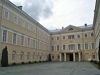 Chodkiewicz Palace in Vilnius, now Lithuanian National Art Museum
