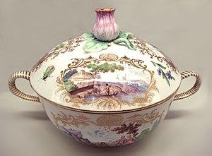 Vincennes porcelain - Image: Vincennes soft porcelain 1749 1750