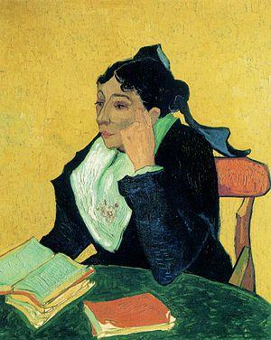 Vincent Van Gogh-L'Arlésienne
