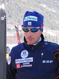 Vincent Vittoz French cross-country skier
