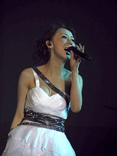 Vincy Chan Hong Kong singer