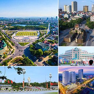 Vinh City in Nghệ An Province, Vietnam