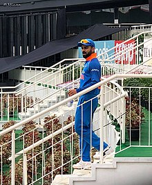 Indian cricket team captain Virat Kohli at Greenfield International Stadium 3c98ea22bc6de