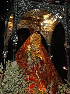 Virgen de la Sierra (Patrona de Cabra - Córdoba) 2.jpg